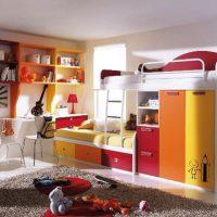 детская спальня для двоих детей фото 29