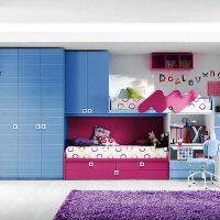 детская спальня для двоих детей фото 3