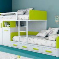 детская спальня для двоих детей фото 30