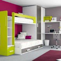 детская спальня для двоих детей фото 31