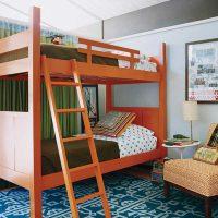 детская спальня для двоих детей фото 33