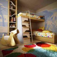 детская спальня для двоих детей фото 46
