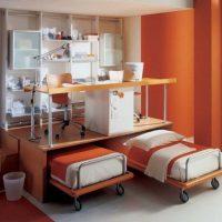 детская спальня для двоих детей фото 49