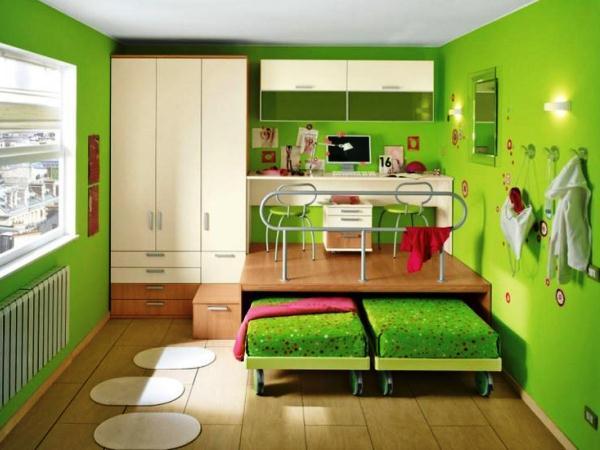 дизайн детской комнаты для двух детей фото