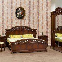 спальни в классическом стиле дизайн фото 22