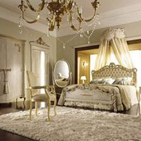 спальни в классическом стиле дизайн фото 3