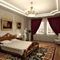 спальни в классическом стиле дизайн фото 32