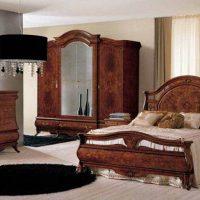 спальни в классическом стиле дизайн фото 37