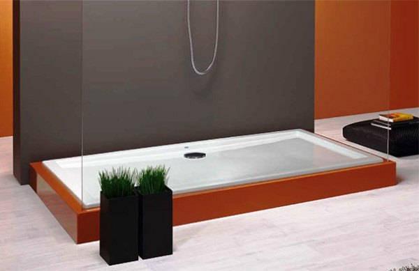 ванная комната с поддоном для душа фото 14