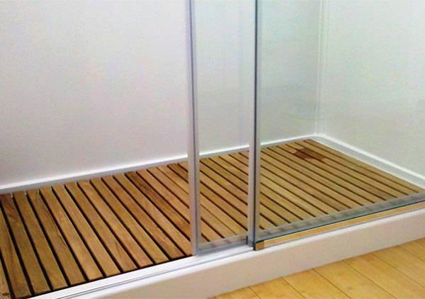 ванная комната с поддоном для душа фото 19
