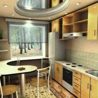 интерьер кухни 9 кв метров фото 12