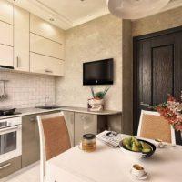 интерьер кухни 9 кв метров фото 15