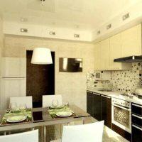 интерьер кухни 9 кв метров фото 7
