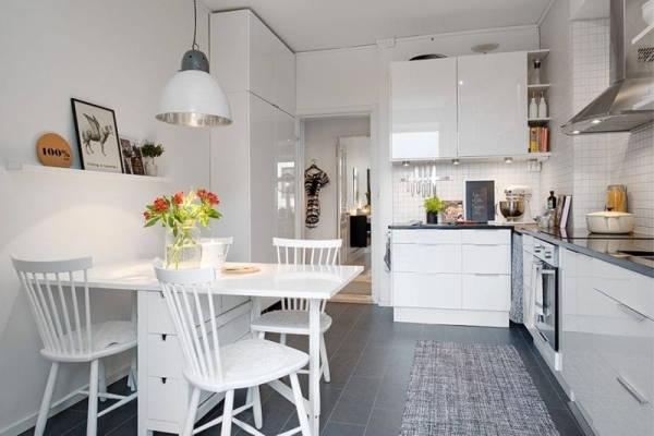 дизайн интерьера кухни 9 кв метров фото 2