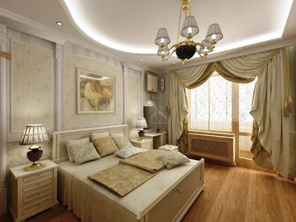 спальня современная классика фото