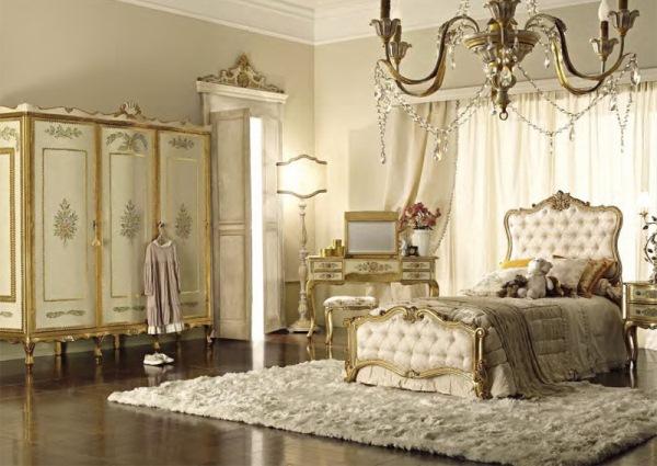 интерьер спальни в стиле классика фото