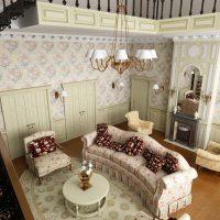 гостиная прованс фото 42