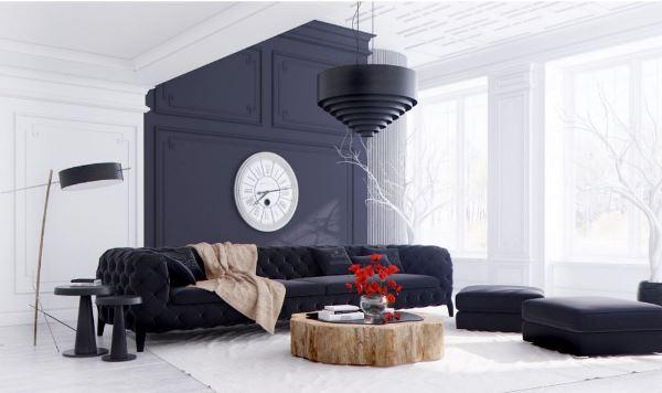 модульные диваны для гостиной фото
