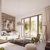 диван в интерьере гостиной фото 2