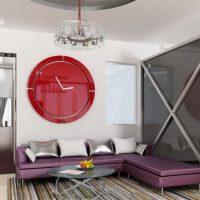 диван в интерьере гостиной фото 21