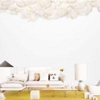 диван в интерьере гостиной фото 31
