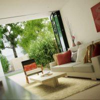 диван в интерьере гостиной фото 8
