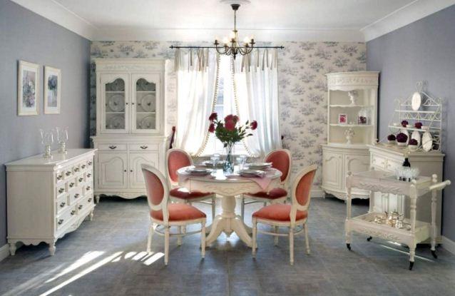 мебель для гостиной прованс фото