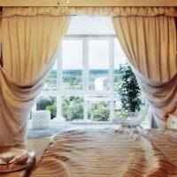 шторы для спальни фото 19