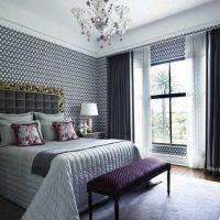 шторы для спальни фото 35