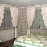 шторы для спальни фото 42