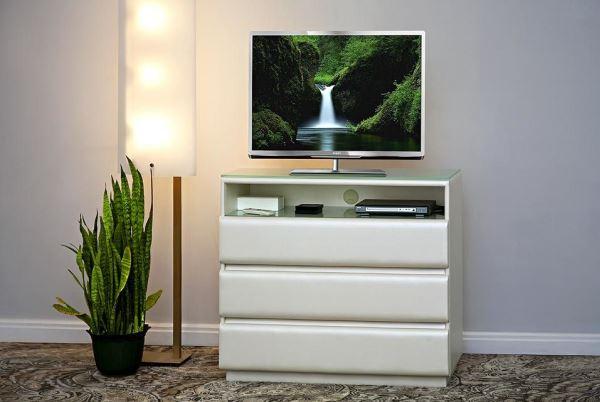 Комод под телевизор с ящиками фото
