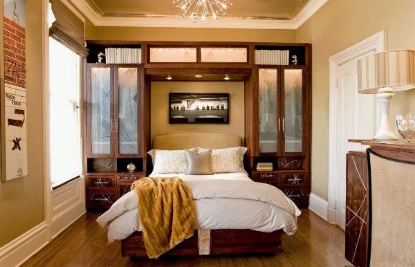 идеи для ремонта маленькой спальни фото