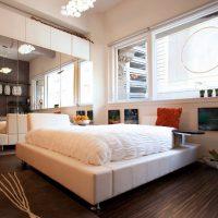 дизайн спальни в стиле модерн фото 13