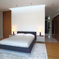 дизайн спальни в стиле модерн фото 21