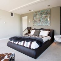 дизайн спальни в стиле модерн фото 29
