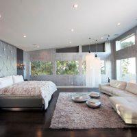 дизайн спальни в стиле модерн фото 31