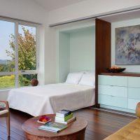 дизайн спальни в стиле модерн фото 40