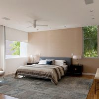 дизайн спальни в стиле модерн фото 46