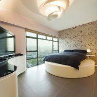 дизайн спальни в стиле модерн фото 48