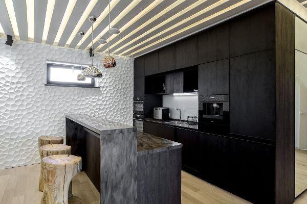 кухня в эко стиле фото интерьера