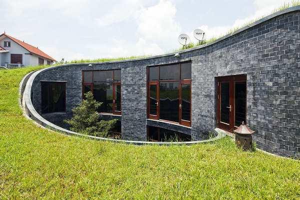 дом в эко стиле фото 21