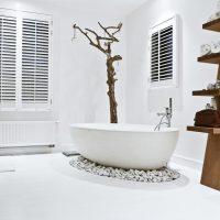 ванные в эко стиле фото 93