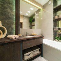 ванные в эко стиле фото 94