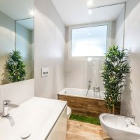 ванные в эко стиле фото 97