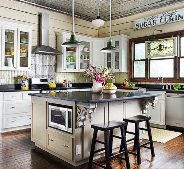 винтажная кухня фото