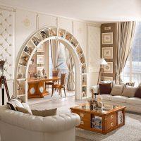 межкомнатные арки в интерьере фото 76