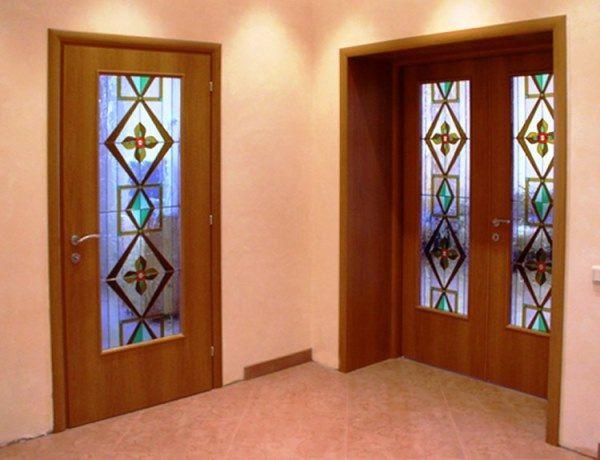 Арочные межкомнатные двери фото