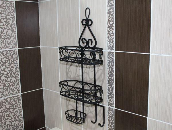 Настенные полки для ванной фото