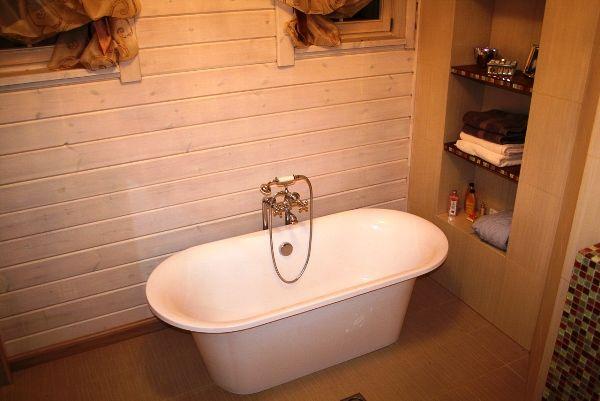 Полки из гипсокартона в ванной комнате фото