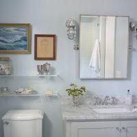 полка в ванную фото 13